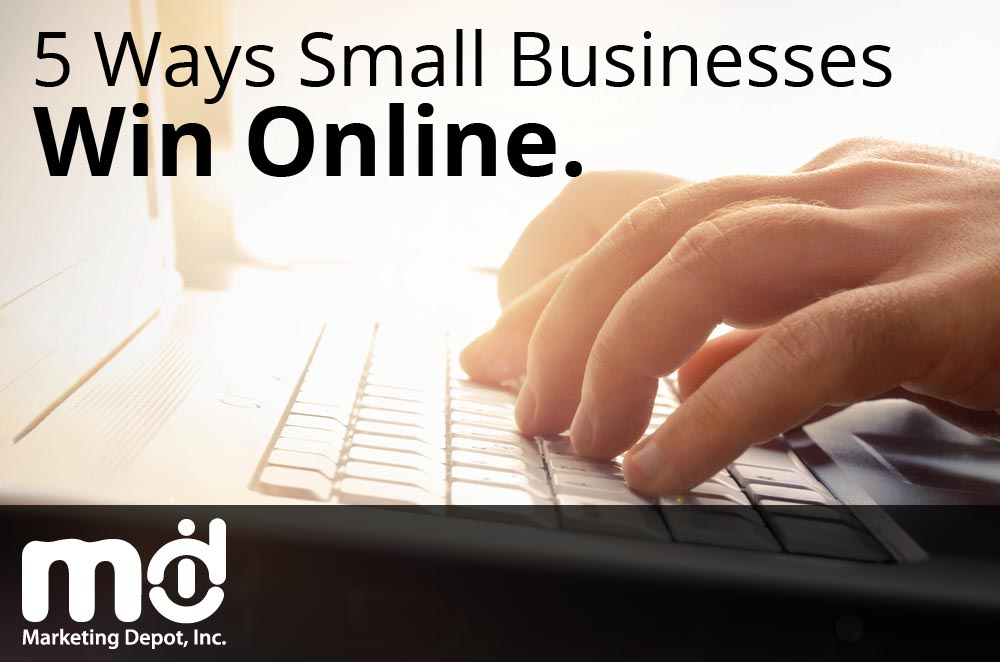 5 Ways Small Businesses Win Online Houston
